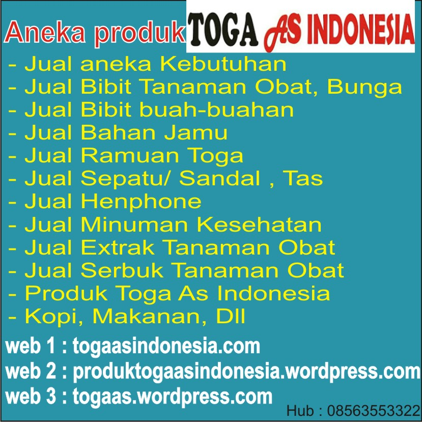 Produk Toga As Indonesia