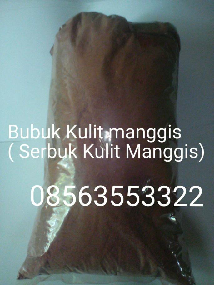 Serbuk kulit manggis
