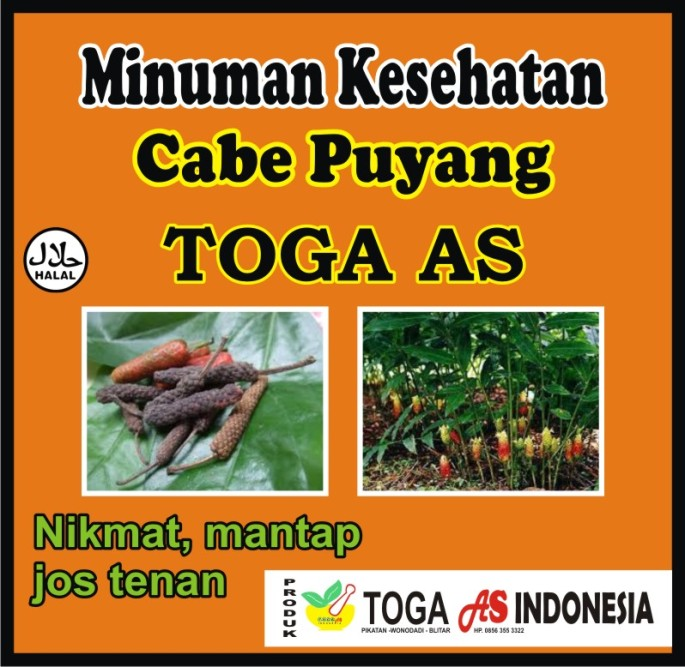 Sungguh nikmat,  minuman cabe puyang sudah terkenal sejak zaman nenek moyang dan merupakan minuman yang asli dari indonesia.  Kini miniman cabe puyang Toga As sungguh menghadirkan untuk anda,  karena Cabe Puyang sangat berkwalitas
